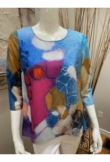 Claire Desjardins Multi-Colored Blouse