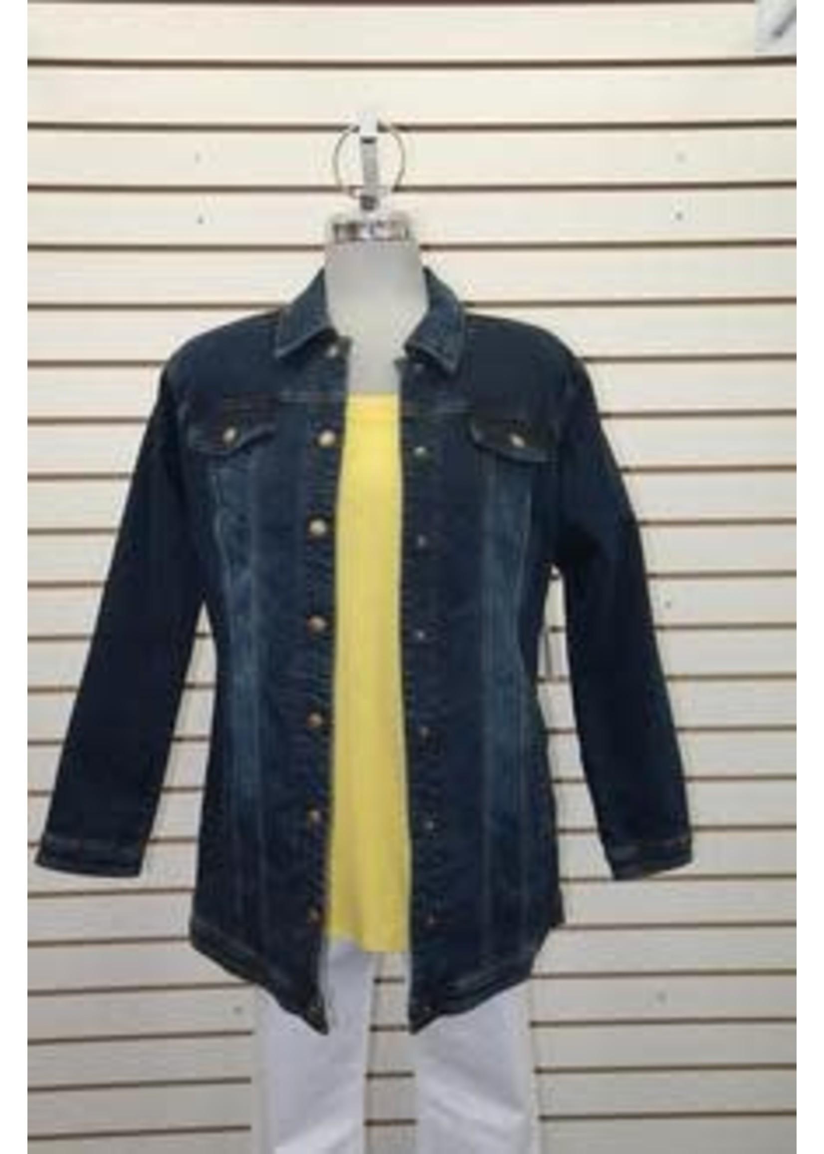 Tribal Tribal Long Jean Jacket