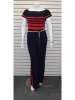 Frank Lyman Short Sleeve Jumpsuit