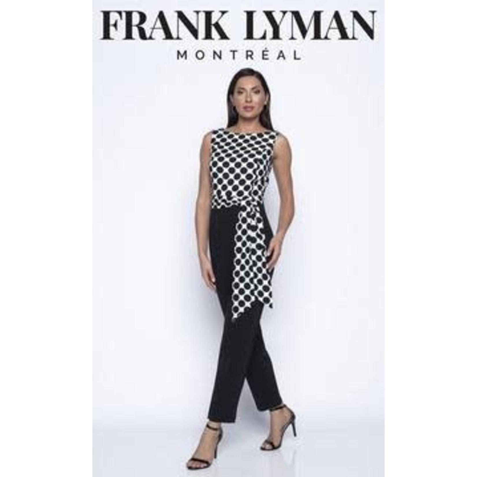 Frank Lyman Sleeveless Jumpsuit