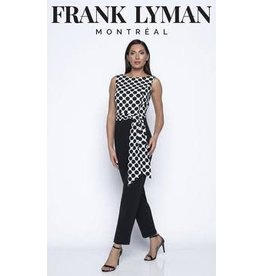 Frank Lyman Sleeveless Jumpsuit