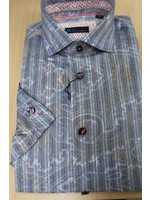Blu Collared Shirt