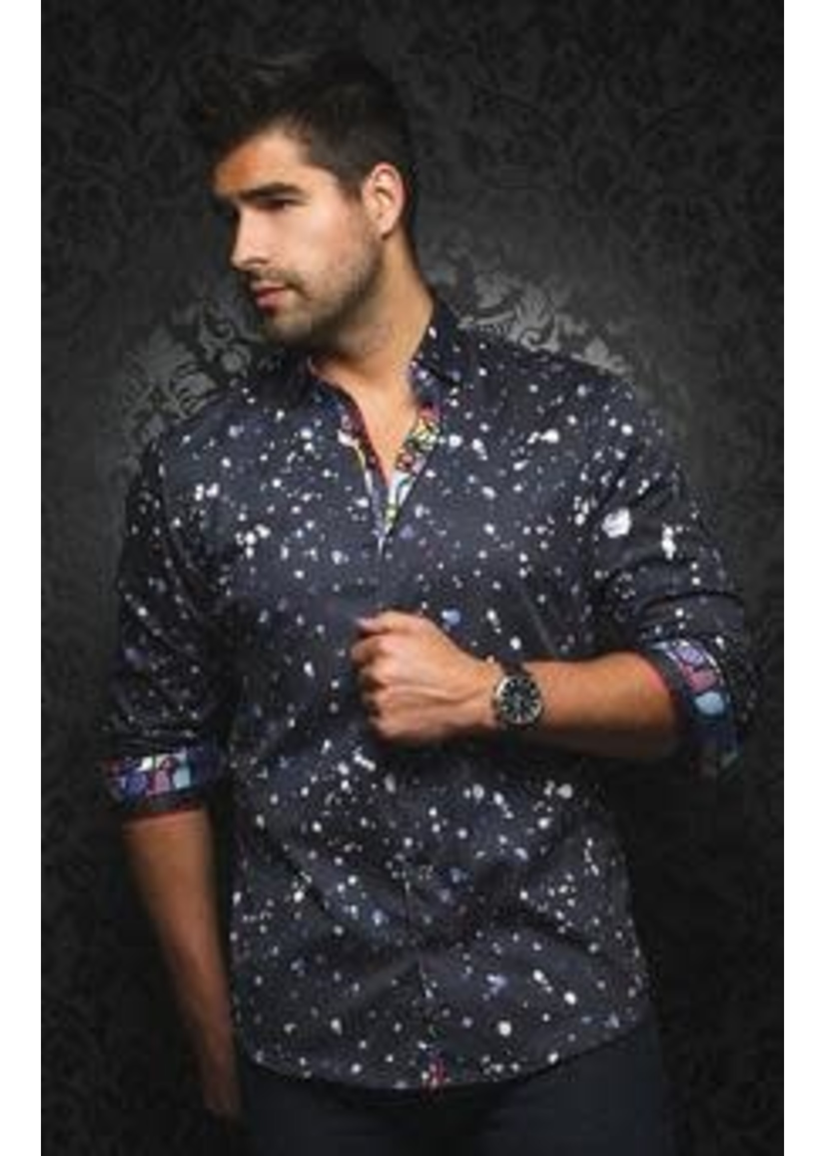 Au Noir Collared Shirt