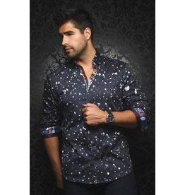 Au Noir Collared Shirt