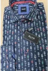 Elite Long Sleeve Collared Shirt