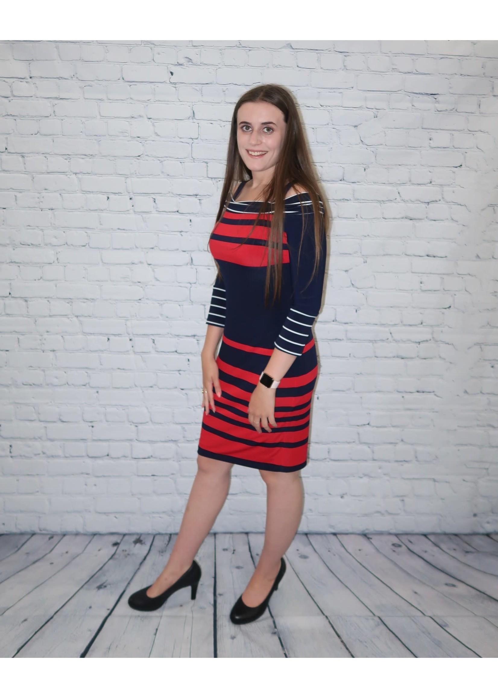 Frank Lyman Frank Lyman Striped Dress