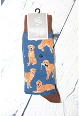 SockSmith Dog Print Sock