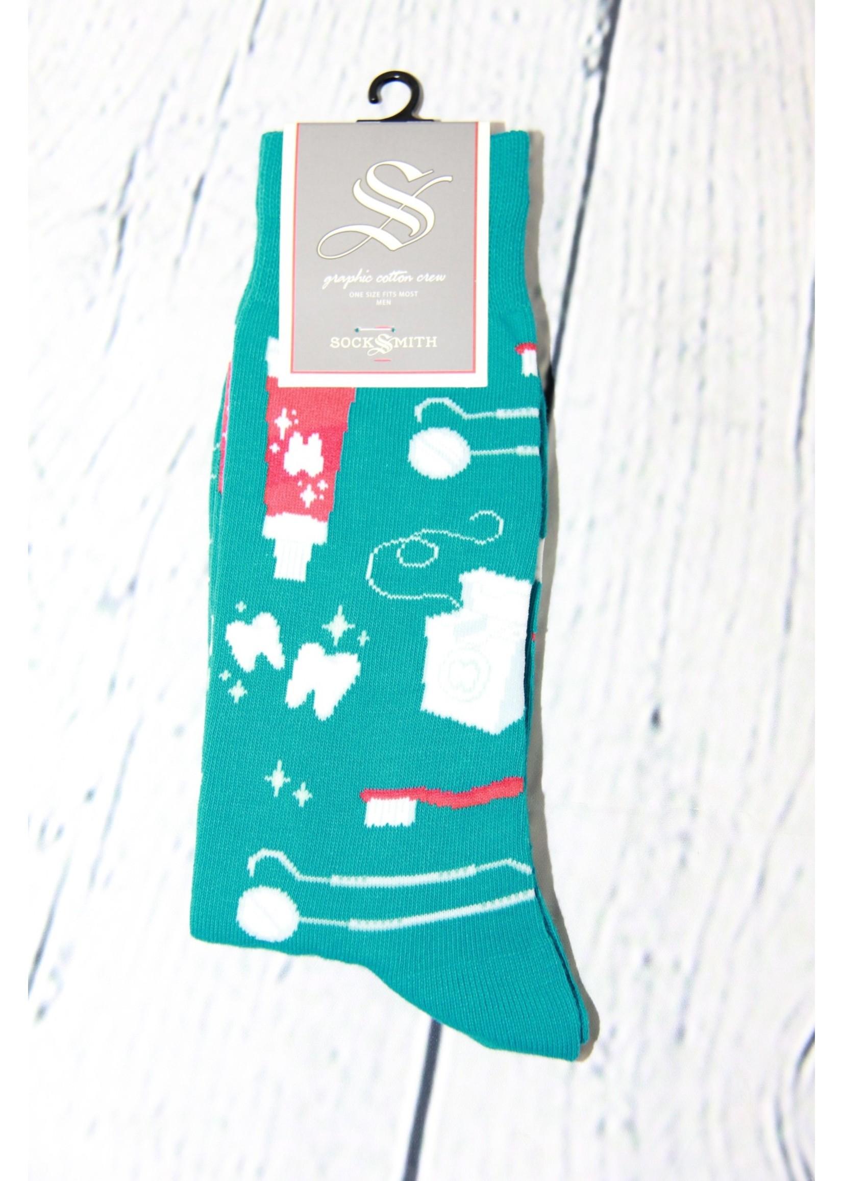 SockSmith Pearly Whites Sock