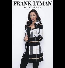 Frank Lyman Frank Lyman Long Plaid Cardigan