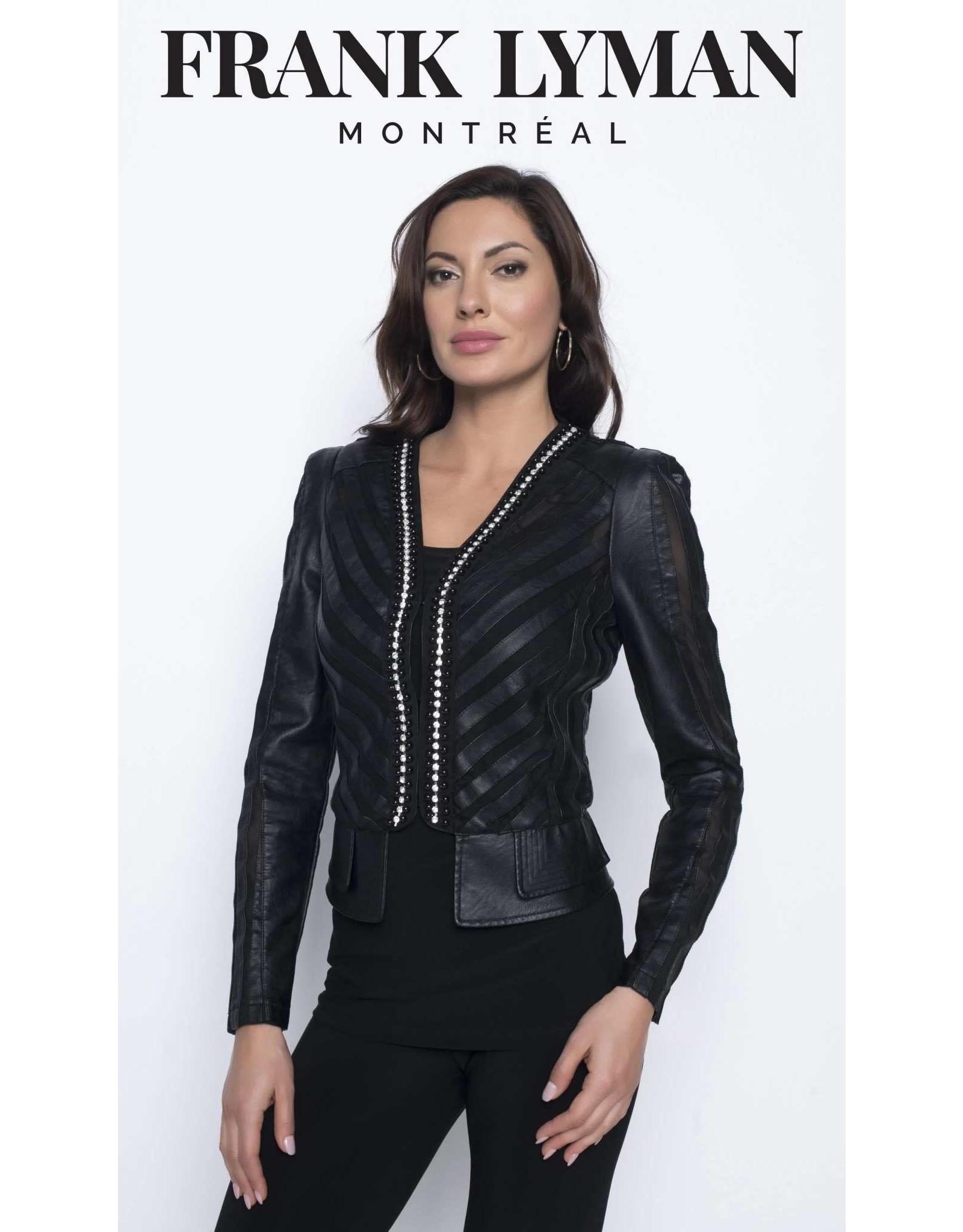 Frank Lyman Black Sequinned Jacket