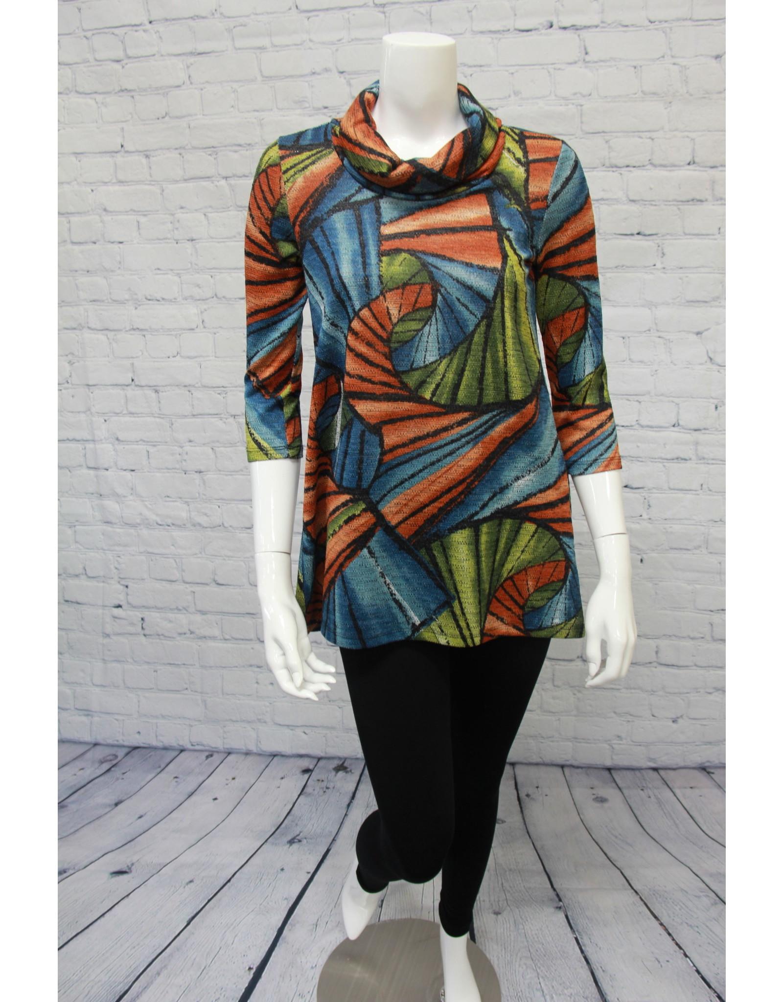 Pure Essence Multi Colored Tunic