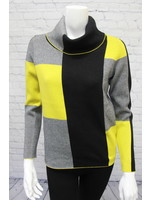 Marble Colour Block Sweater 2 Colours