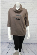 Marble Roll Neck Sweater