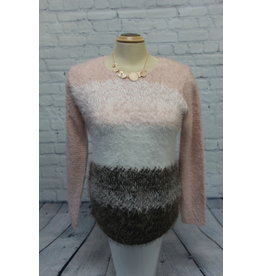 Marble Eyelash Sweater