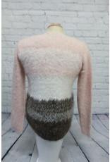 Marble Eyelash Sweater