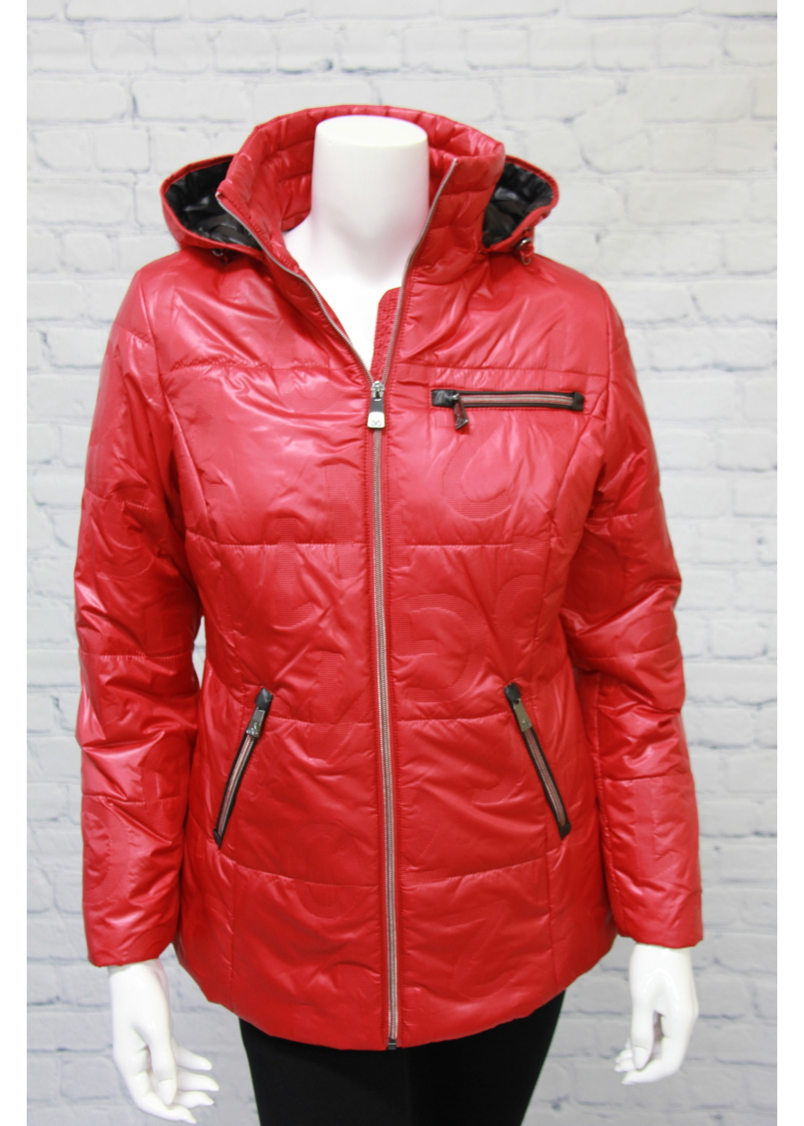 Junge Scarlet Jacket with Removable Hood
