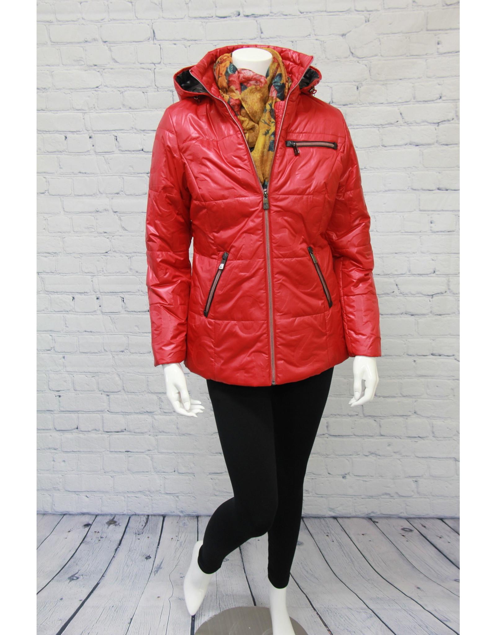 Junge Scarlet Jacket with Removable Hood