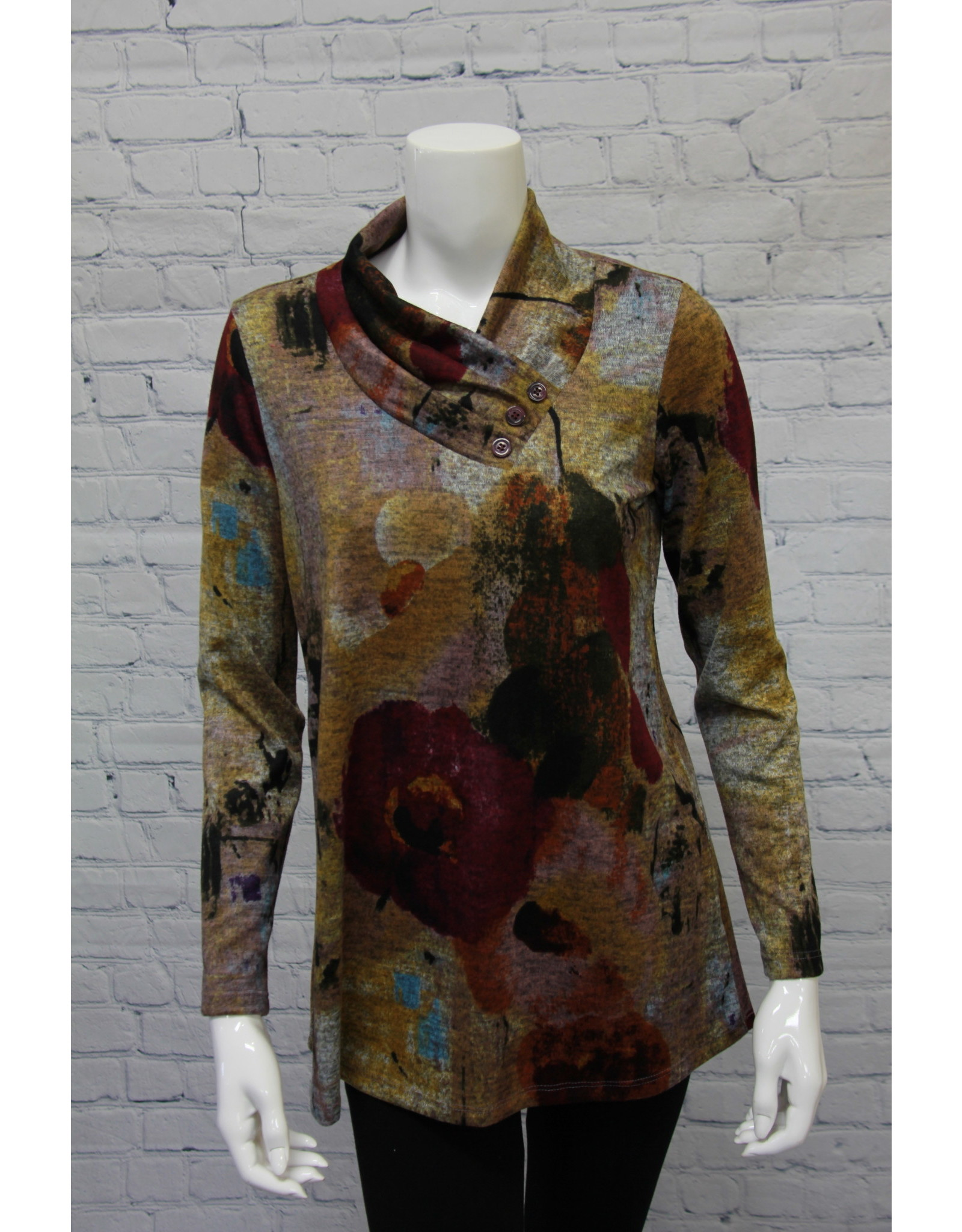 Pure Essence Mulberry Mix Tunic