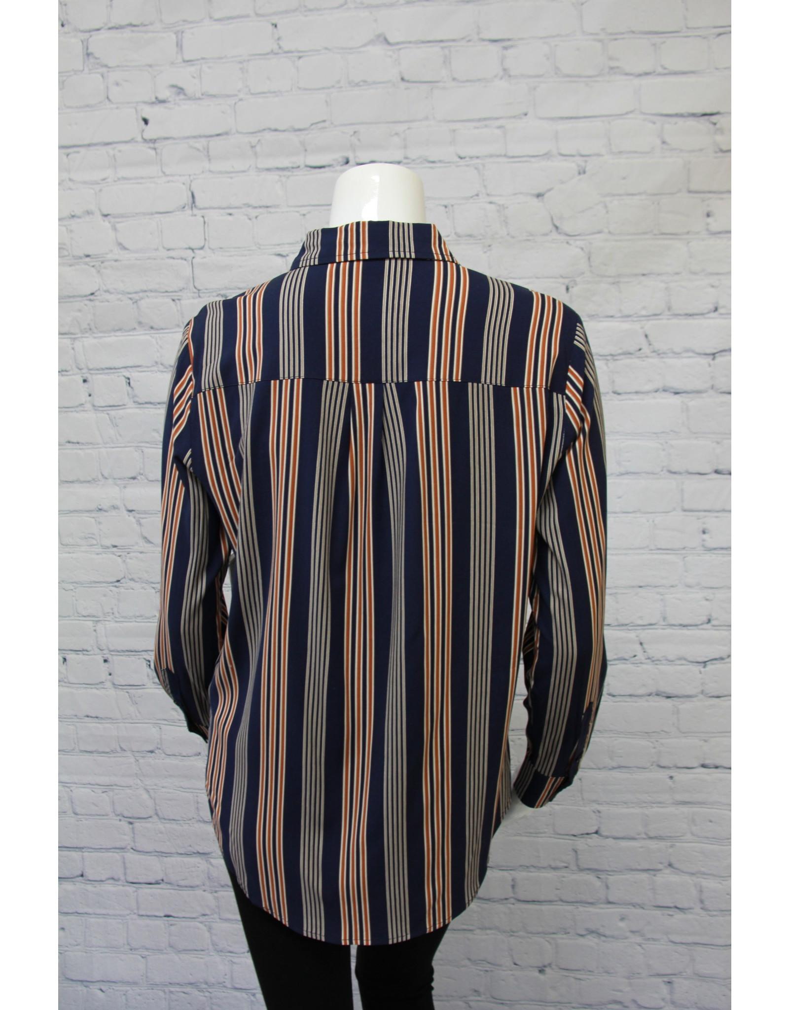 Tribal Long Sleeve Roll Up Shirt