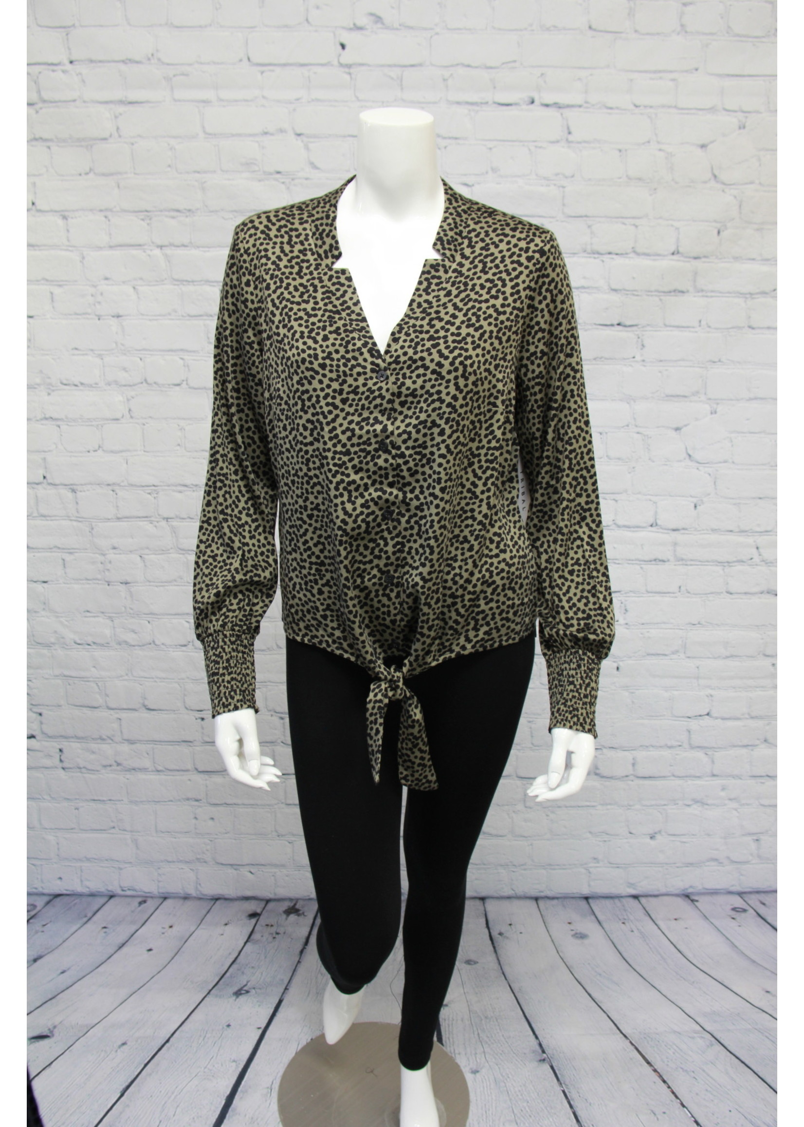 Tribal Blouse With Front Tie