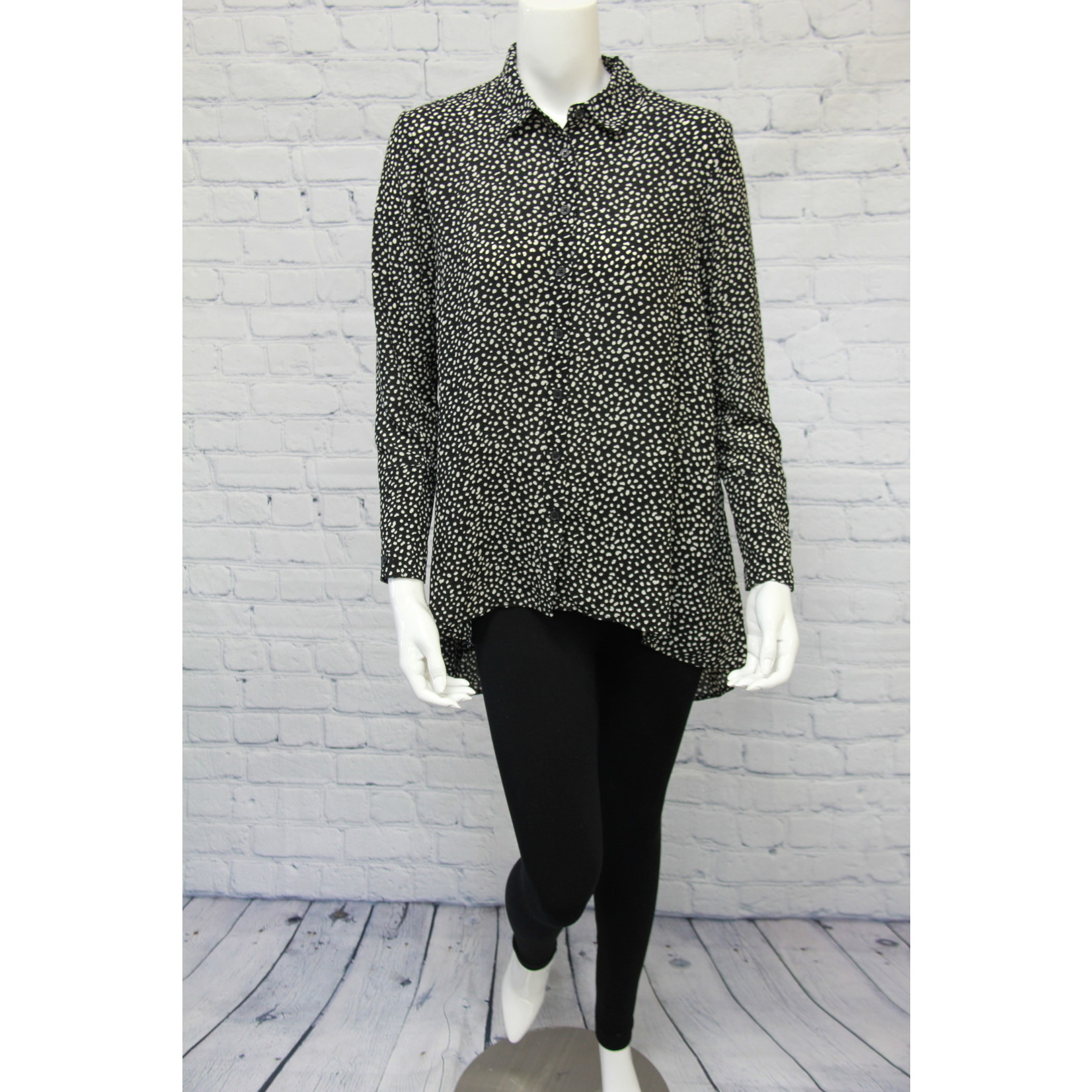 Tribal High Low Blouse