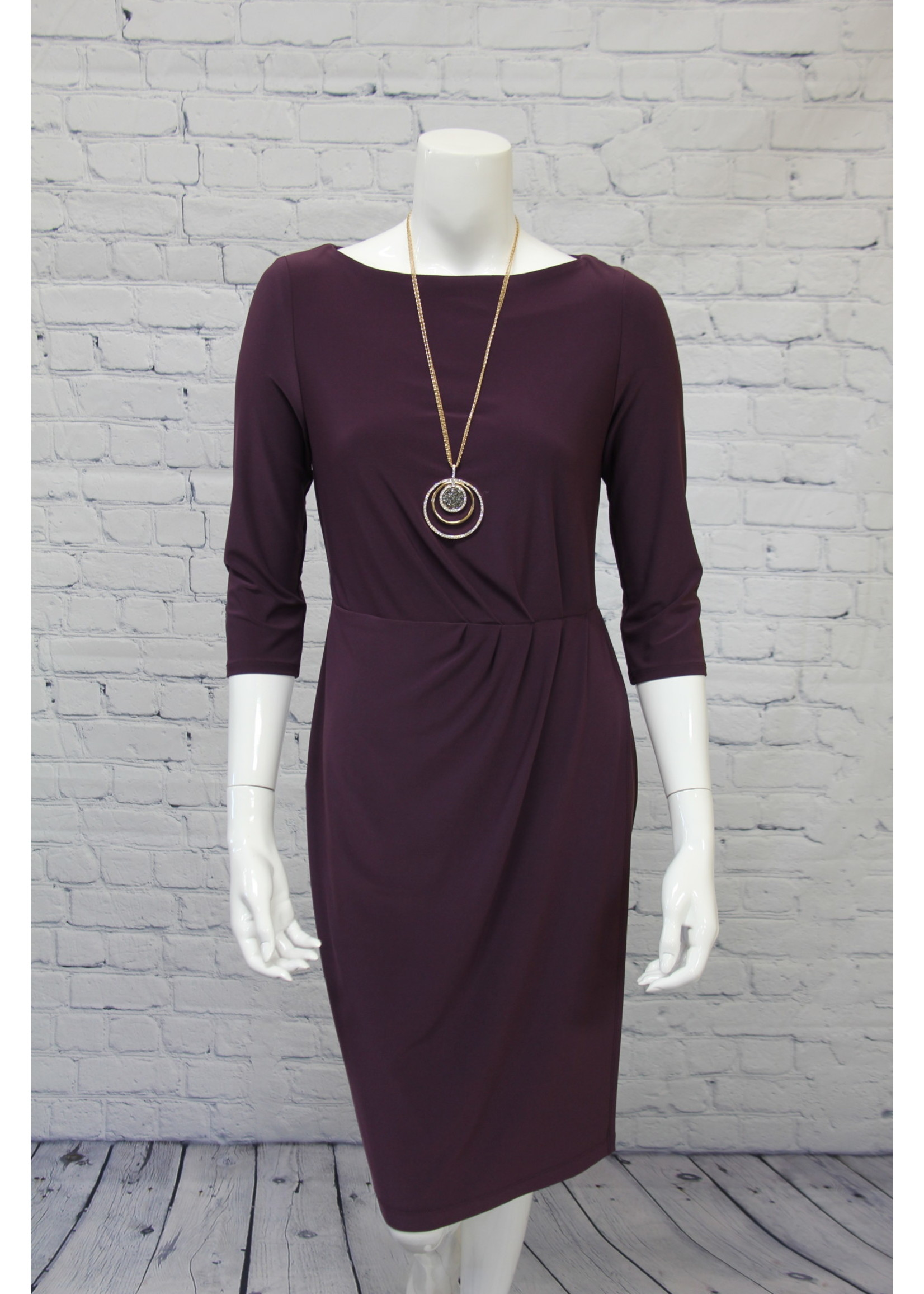 Joseph Ribkoff Dress With Sleeves
