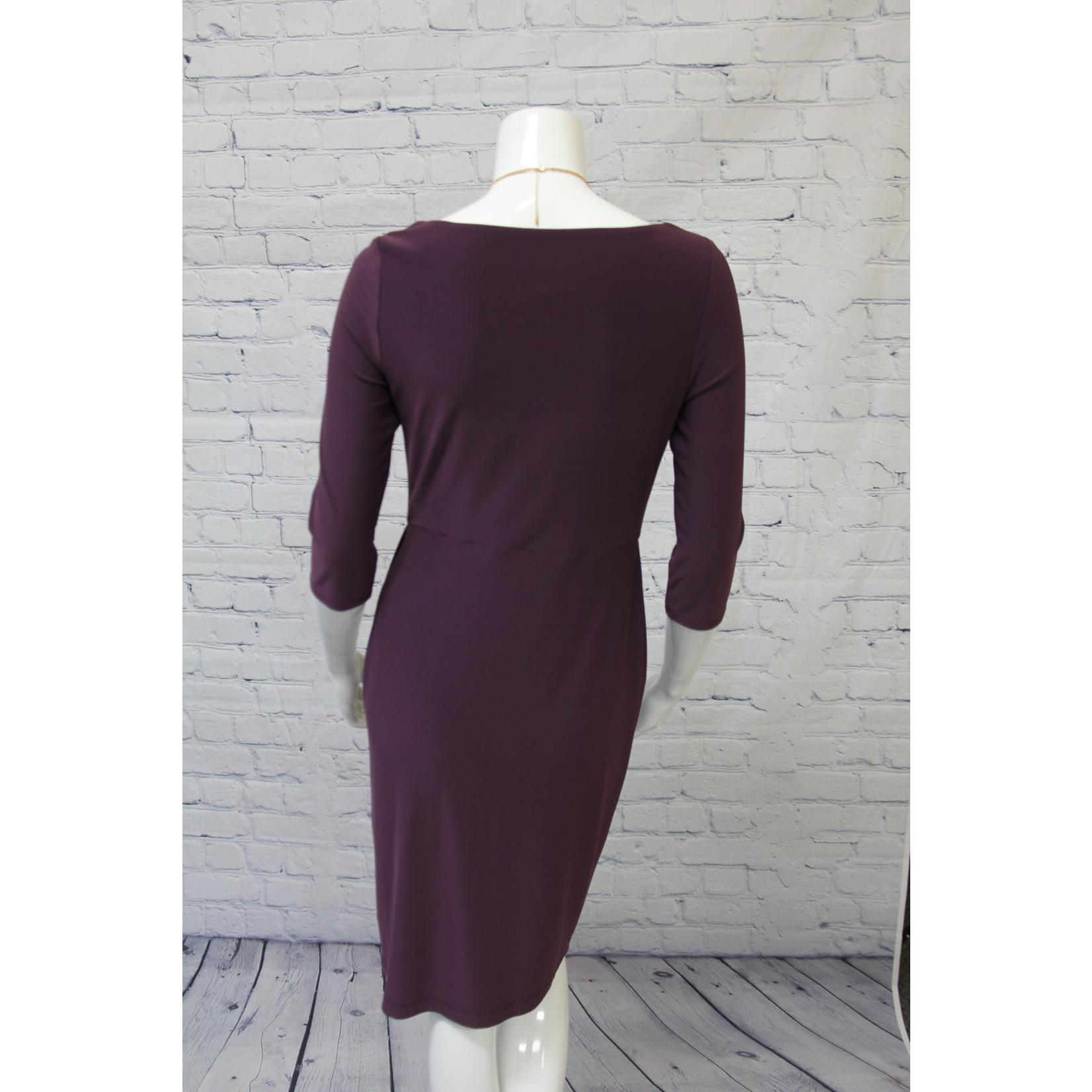 Joseph Ribkoff Dress With Sleeves