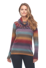 FDJ Colorful Cowl Neck Sweater