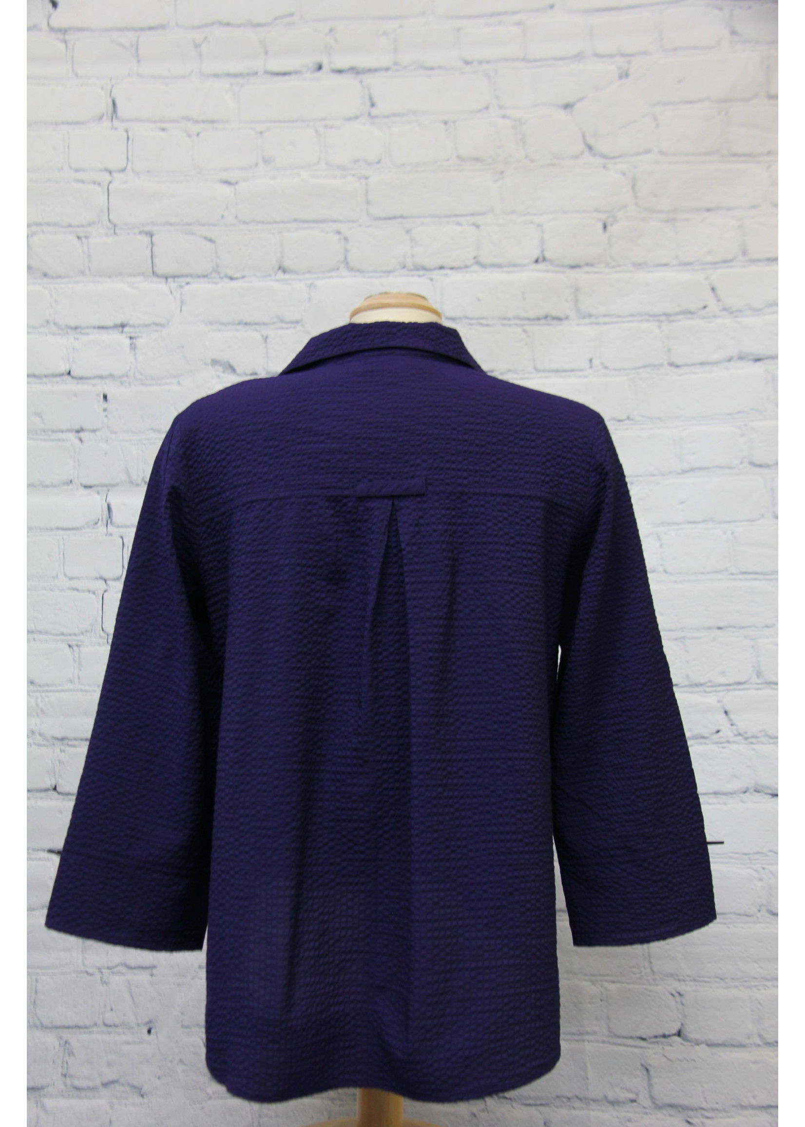 Habitat Solid Chopstick Button Swing Shirt