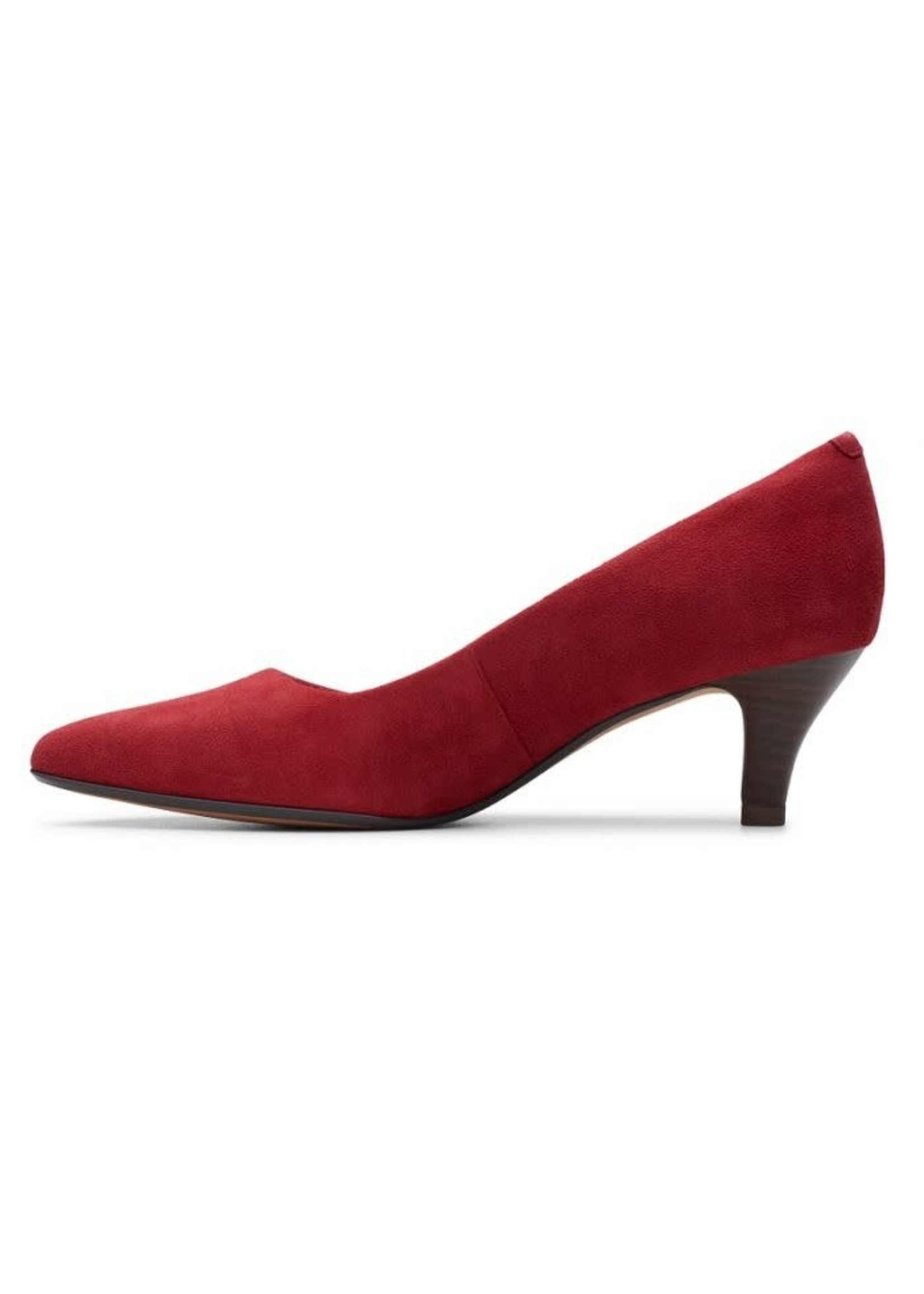 Clarks Linvale Jerica Cherry Red Pump