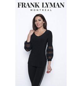 Frank Lyman Black Knit Top