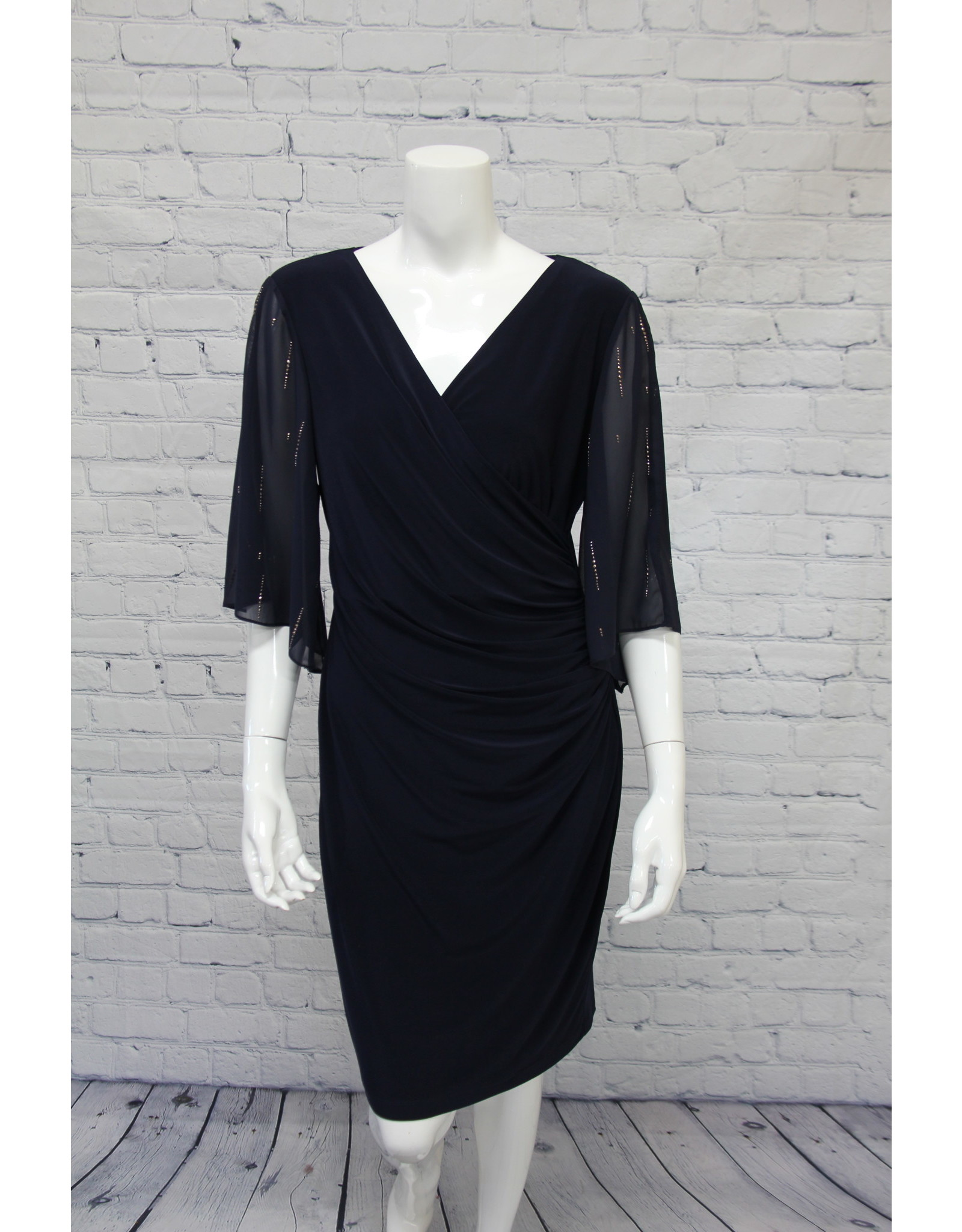 Frank Lyman Midnight Knit Dress