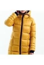 Charlie B Real Down Long Puffer Coat
