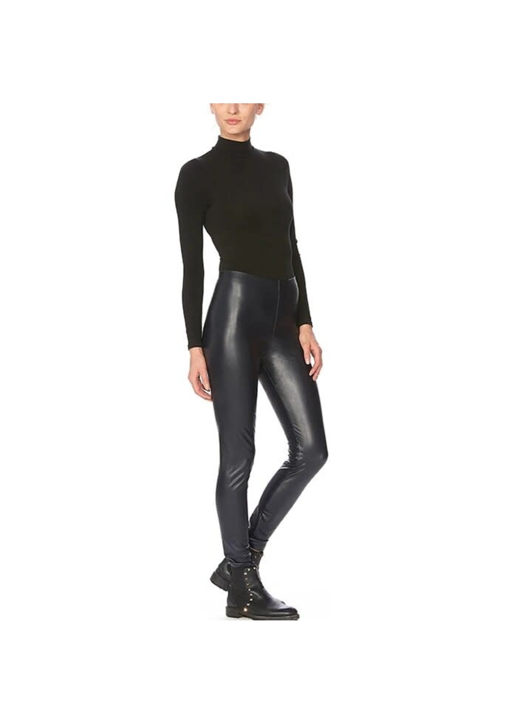 Hue Super Sleek Leatherette Legging