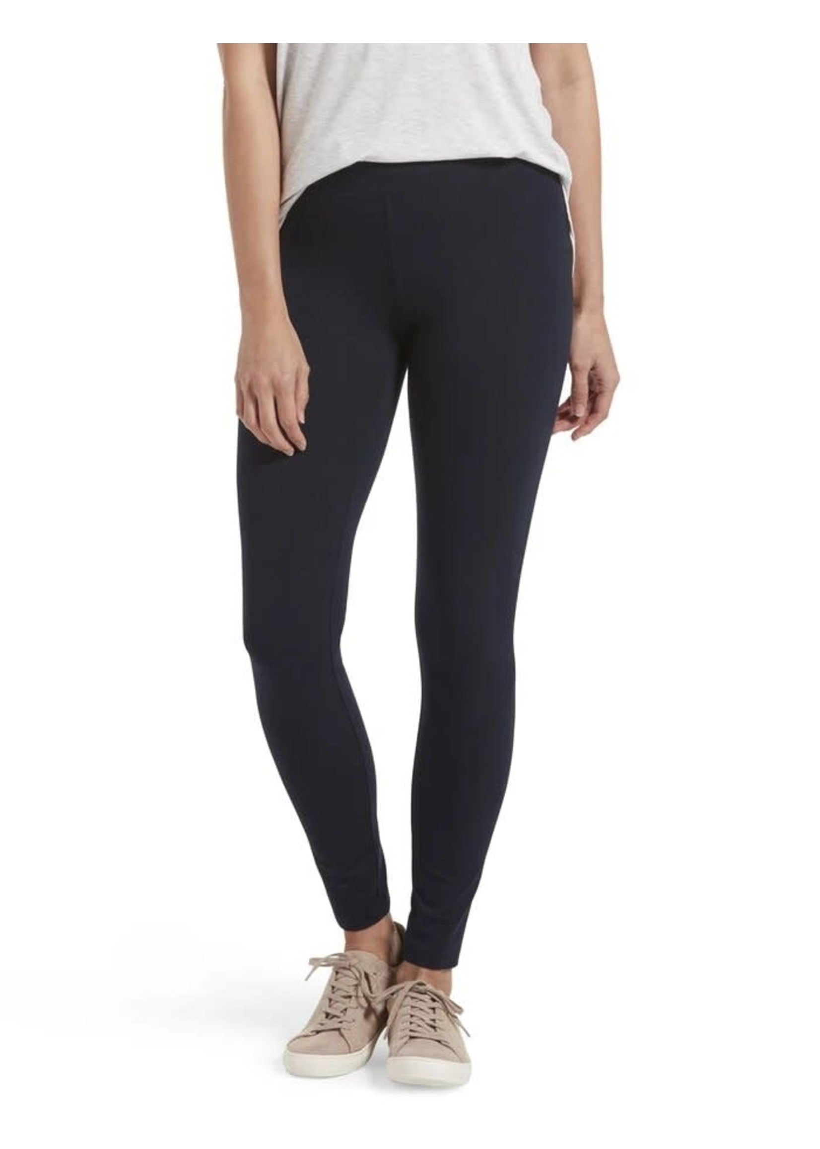 Hue Wide Wasitband Ultra Cotton Leggings