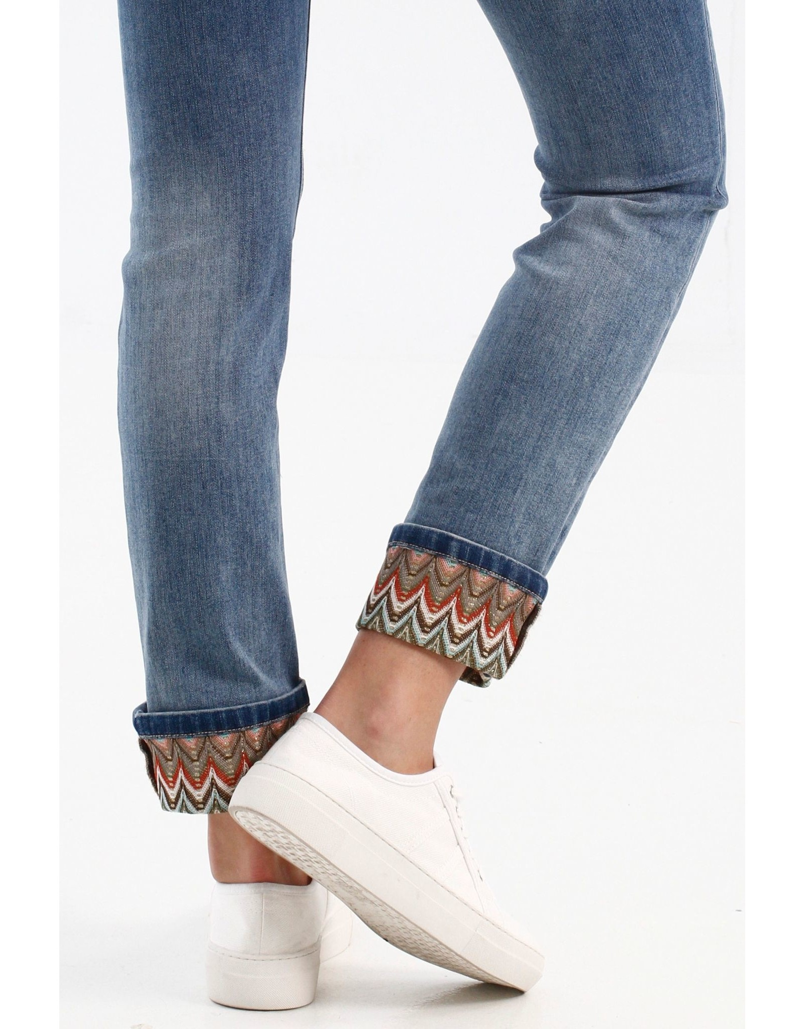 Charlie B Jean With Crochet Detail