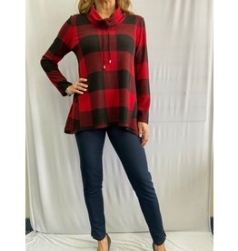Soft Works Buffalo Plaid Top