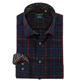 Leo Chevalier Dark Multi Plaid