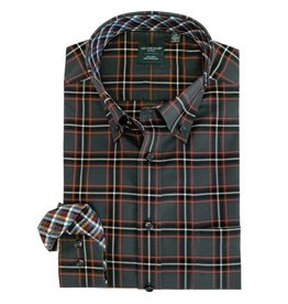 Leo Chevalier Rust Plaid