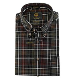Viyella Hunter Plaid