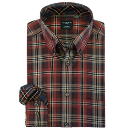Leo Chevalier Red Plaid