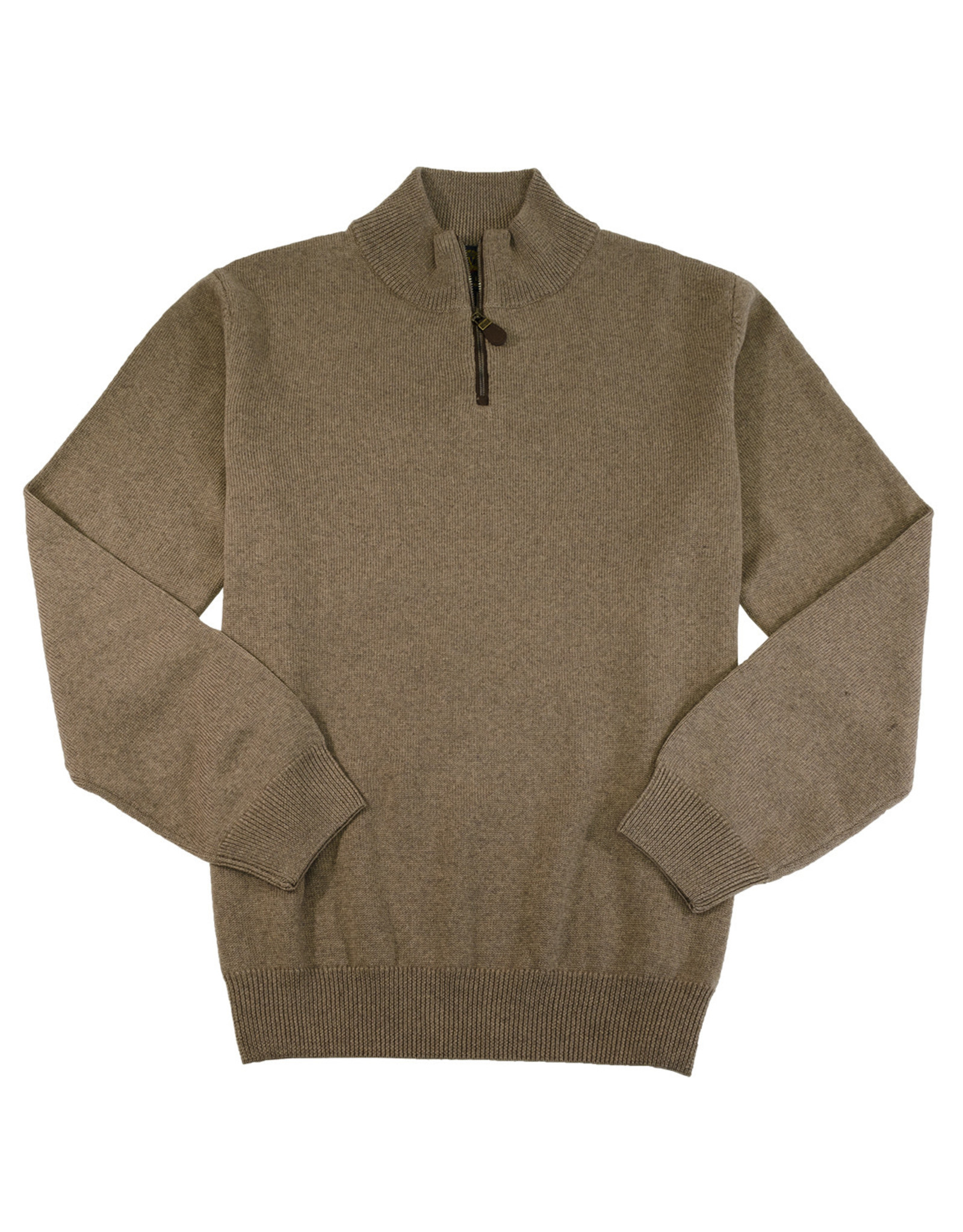 Viyella 1/4 Zip Mock Neck Sweater