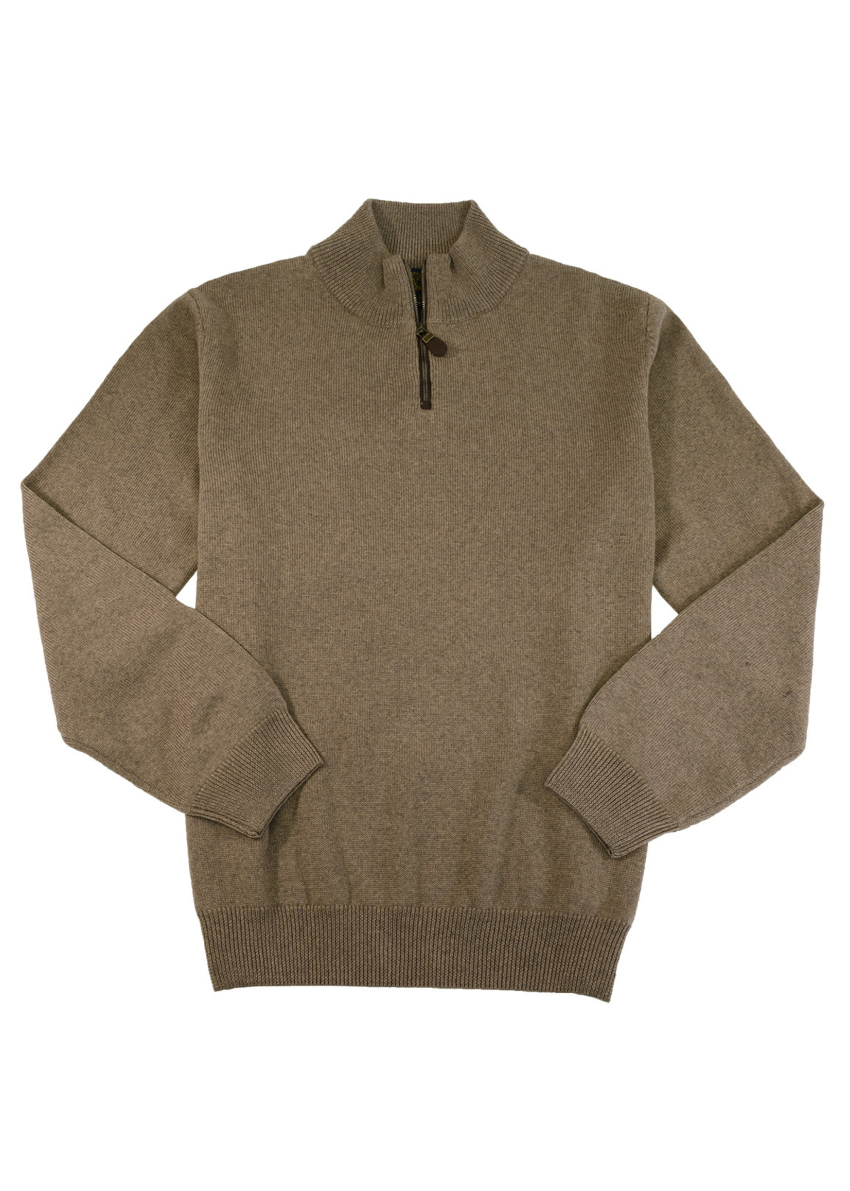 Viyella 1/4 Zip Mock Neck Sweater