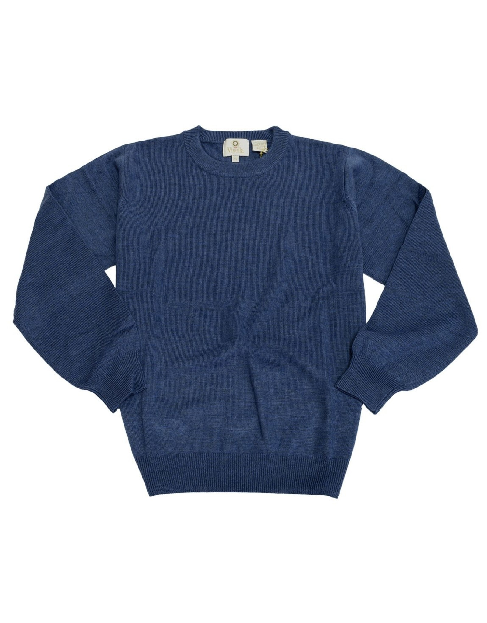 Viyella Basic Crew Sweater 100% Wool