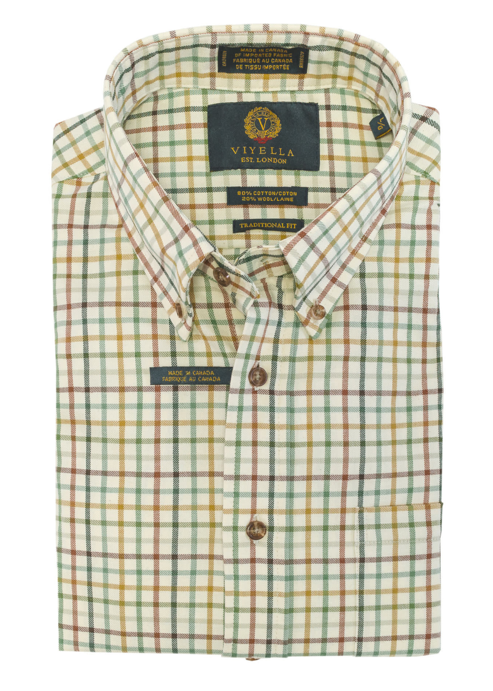 Viyella Check Plaid Shirt