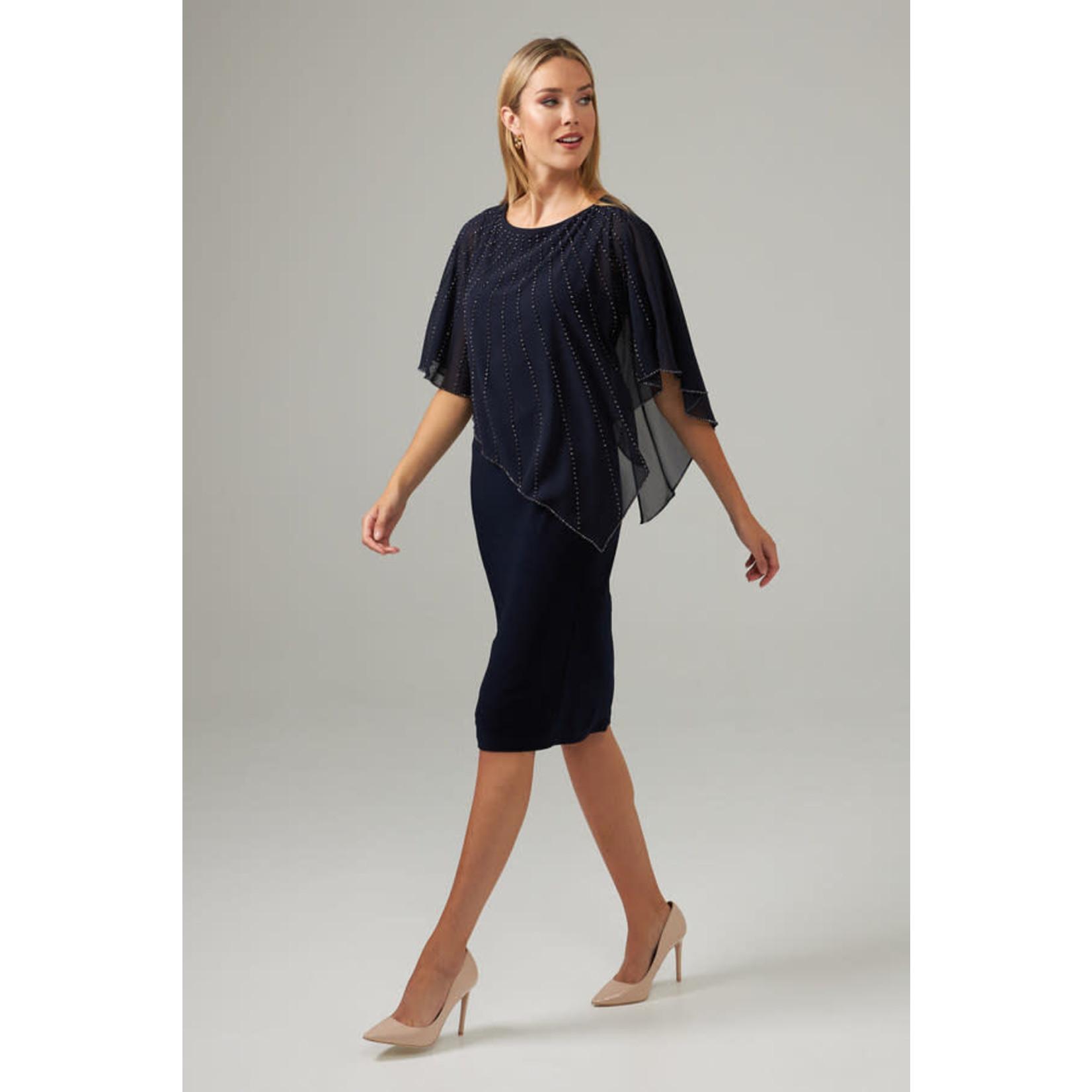 Joseph Ribkoff Ladies Navy Dress