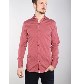 7 Downie St. Red Gingham Print Shirt