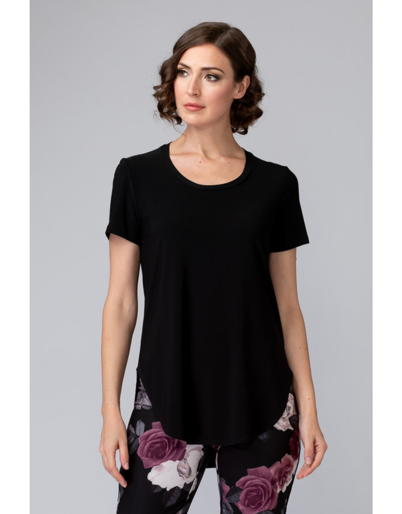 Joseph Ribkoff Rounded Hem Top