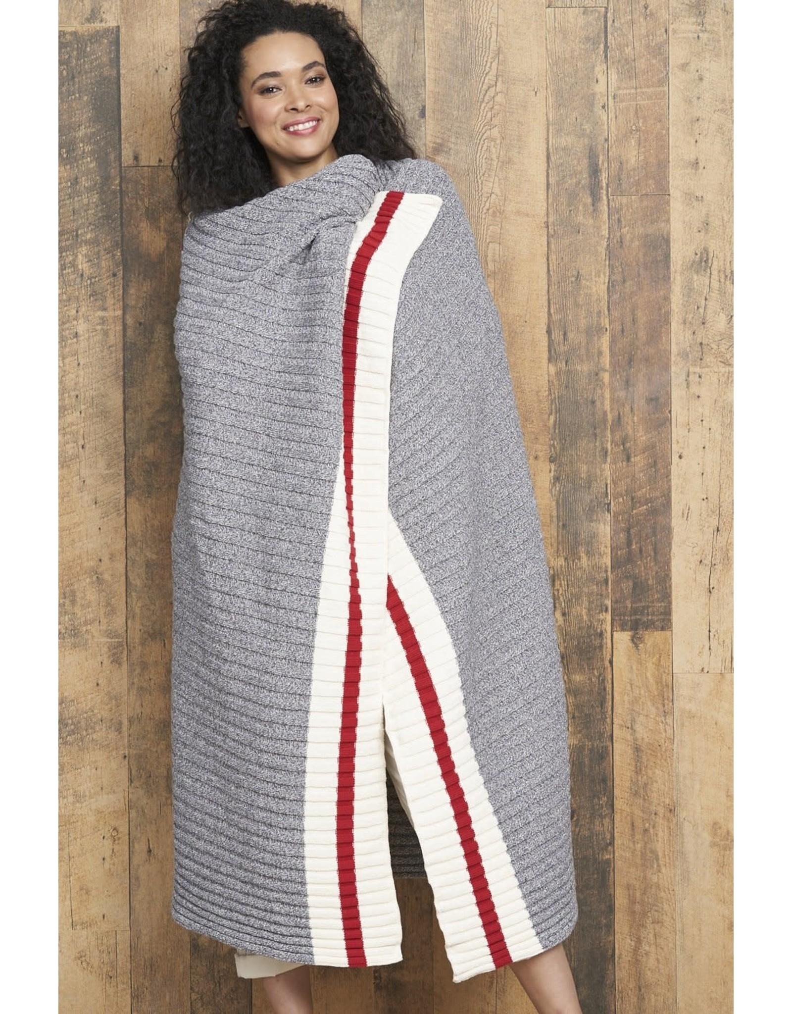 Parkhurst Collegiate Blanket Grey Mix