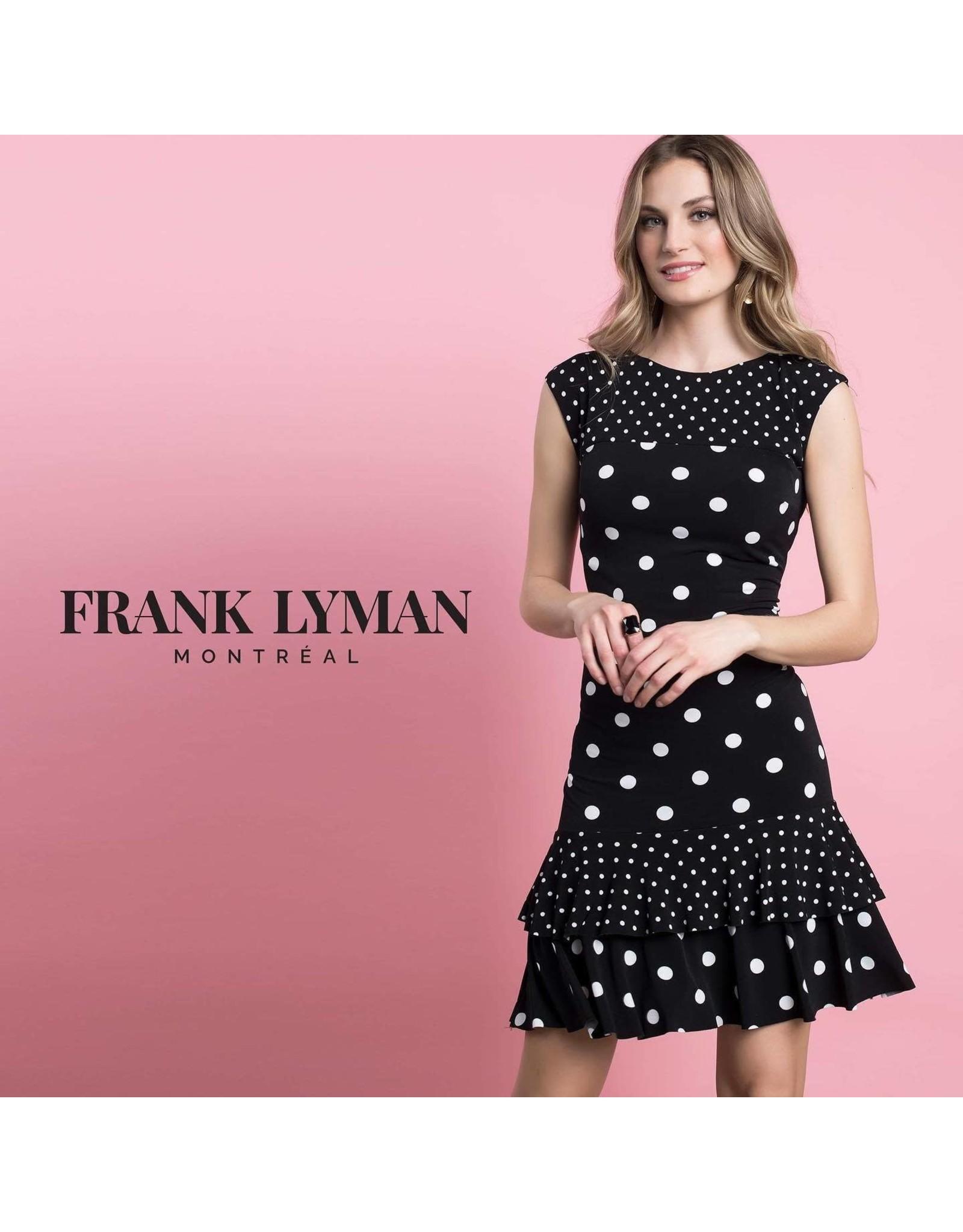 Frank Lyman Black / White Knit Dress